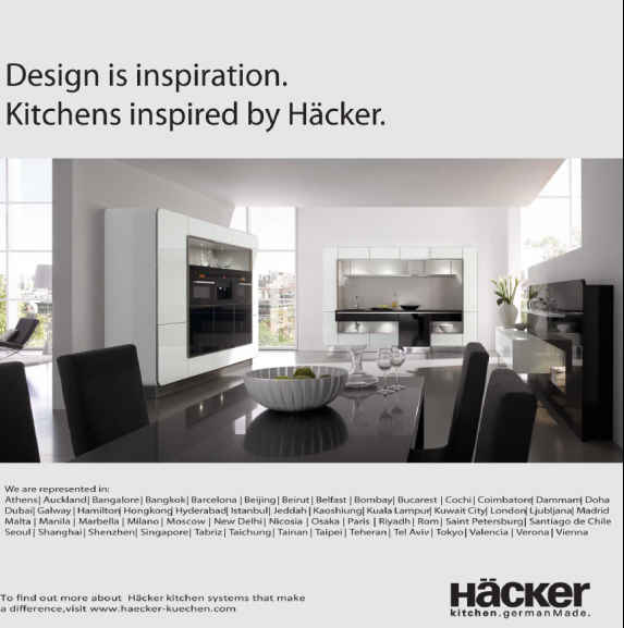 Emotion 2-Hacker kitchen German Made
