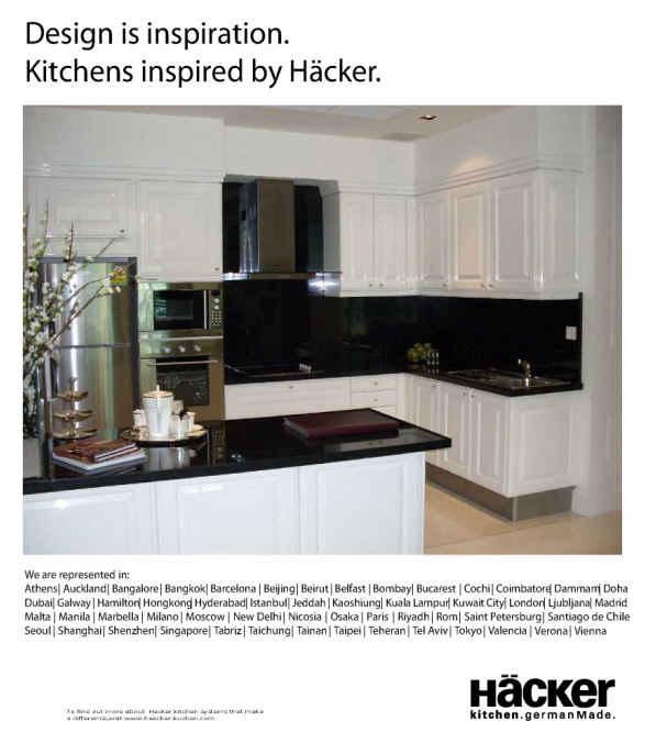 Classic AV 5030-Hacker kitchen German Made