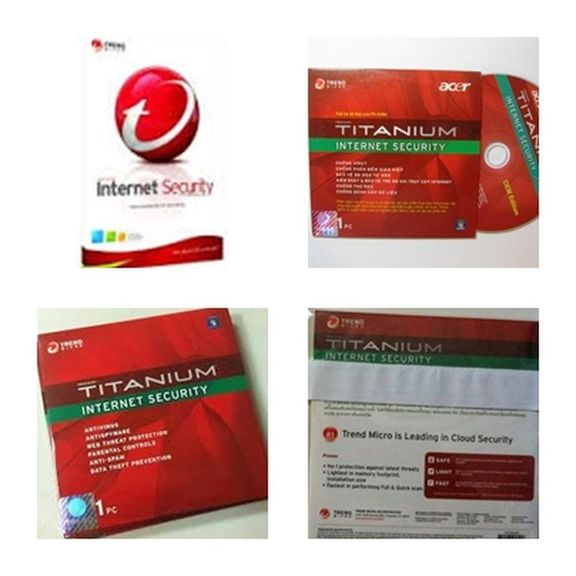 แอนตี้ไวรัส Trend Micro Titanium Internet Security